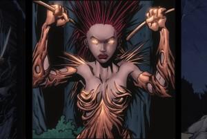 strong female super villains in comics, legend of the mantamaji