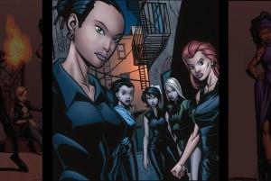 Sanctuants, strong female superheroes in comics, legend of the mantamaji