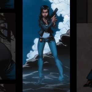 Sydney Spencer female characters in comics, strong female characters, legend of the mantamaji