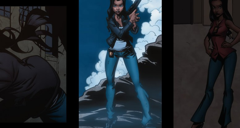 female characters in comics, strong female characters