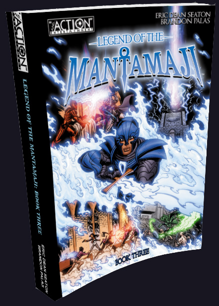 Legend of the Mantamaji: Book 3