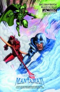 legend of the mantamaji graphic novel by eric dean seaton black superhero