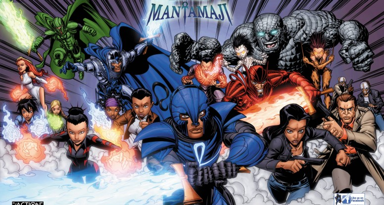 Legend of the Mantamaji Graphic Novel, Black Superhero