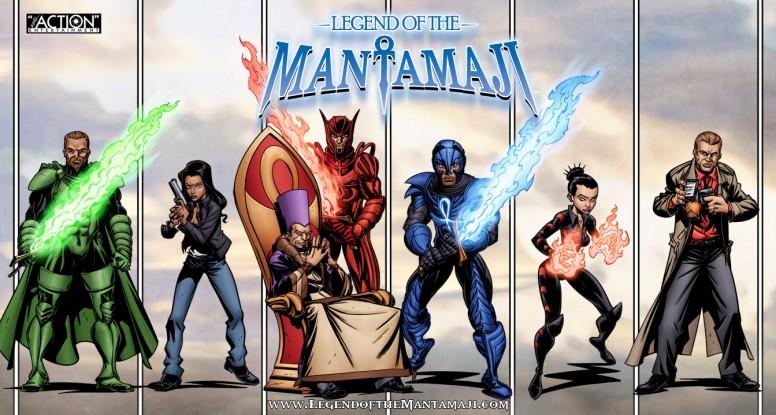 Legend of the Mantamaji Graphic Novel, Comics