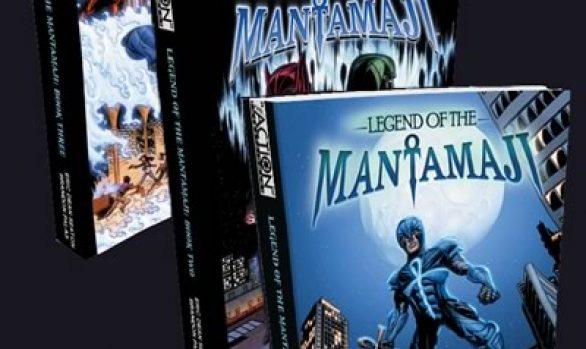3 Book Bundle: Complete Legend of the Mantamaji Series