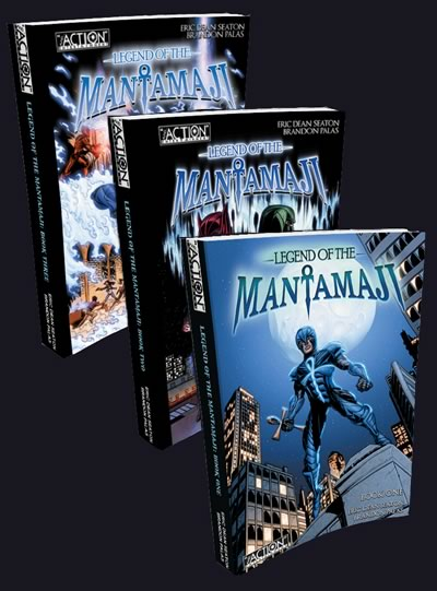 3 Book Bundle: Complete Legend of the Mantamaji Series