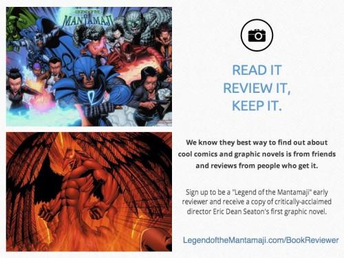 Legend of the Mantamaji Book Review, Eric Dean Seaton