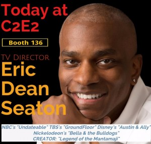 Eric Dean Seaton C2E2, legend of the mantamaji