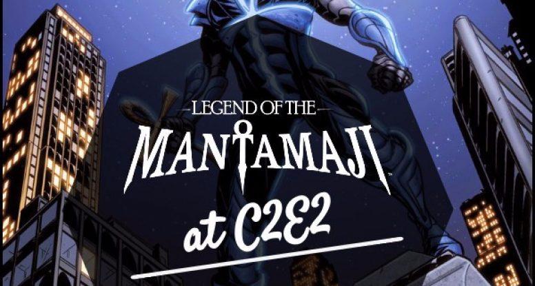 eric dean seaton, legend of the mantamaji c2e2