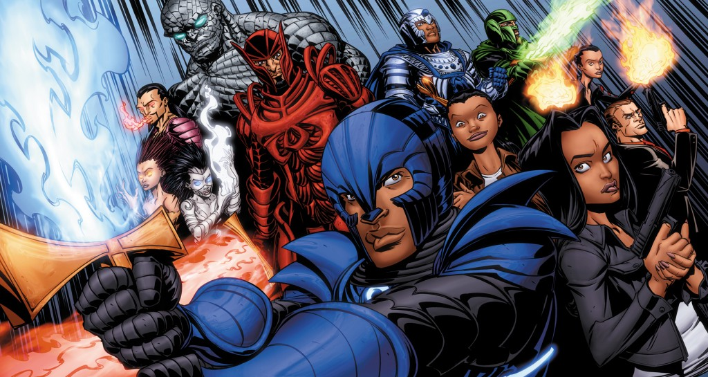 Legend of the Mantamaji Side Group Shot