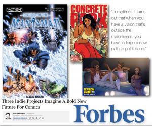 independent comics, concrete park, diverse comics booklist, graphic novel recommendations voya