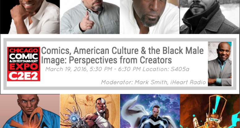Comics, American Culture & the Black Male Image: Perspectives from Creators