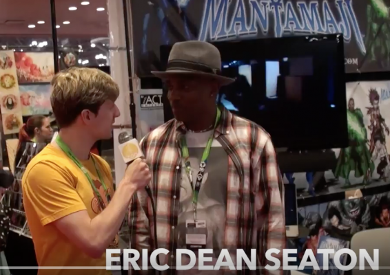 Thomas Leverton of Review Zoo Interviews Eric Dean Seaton CC2015